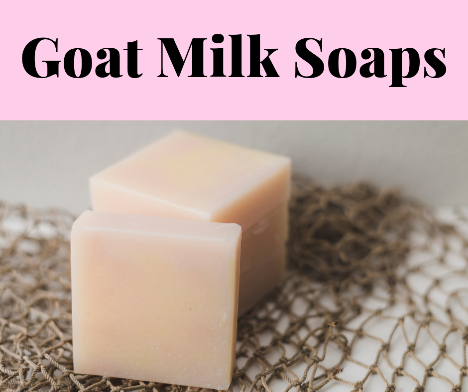 Valentine's Day Gifts: Goat Milk Soaps