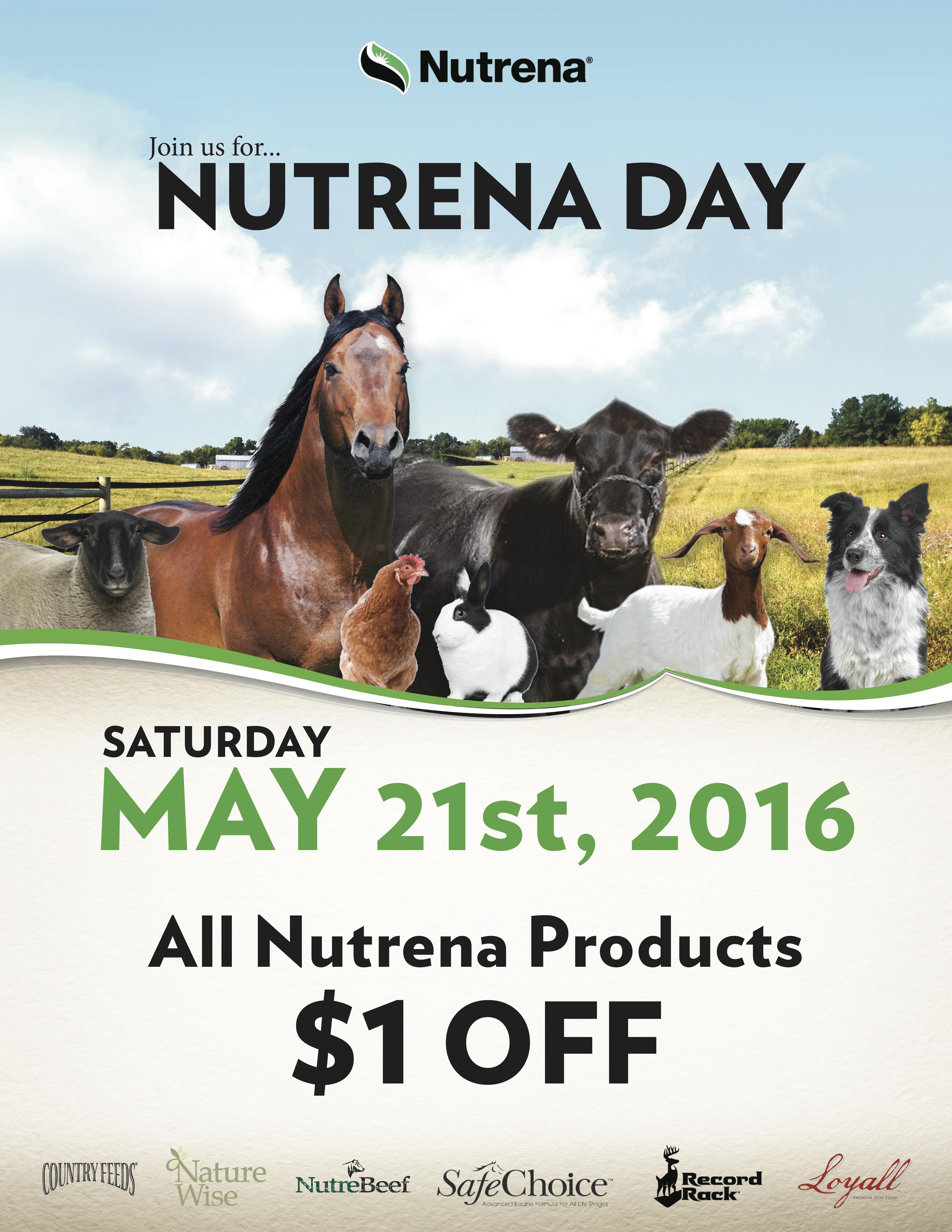 Nutrena Day Flyer