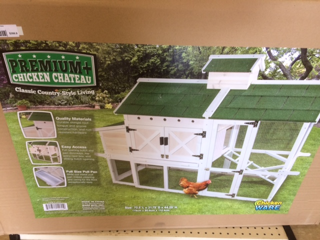 chicken coop chateau