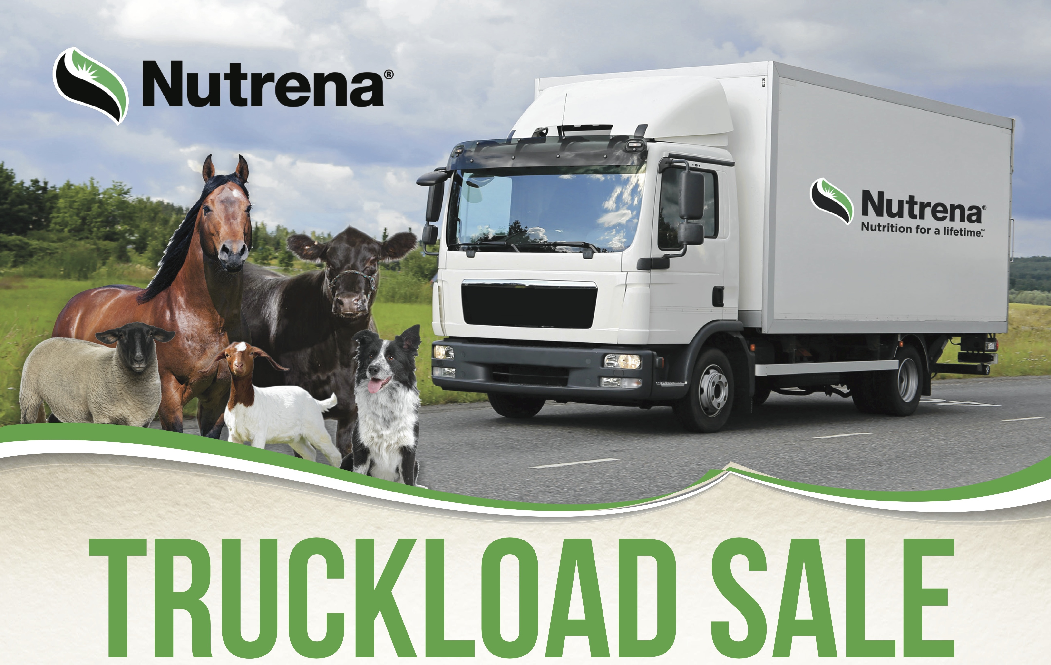 Nutrena Truckload Sale