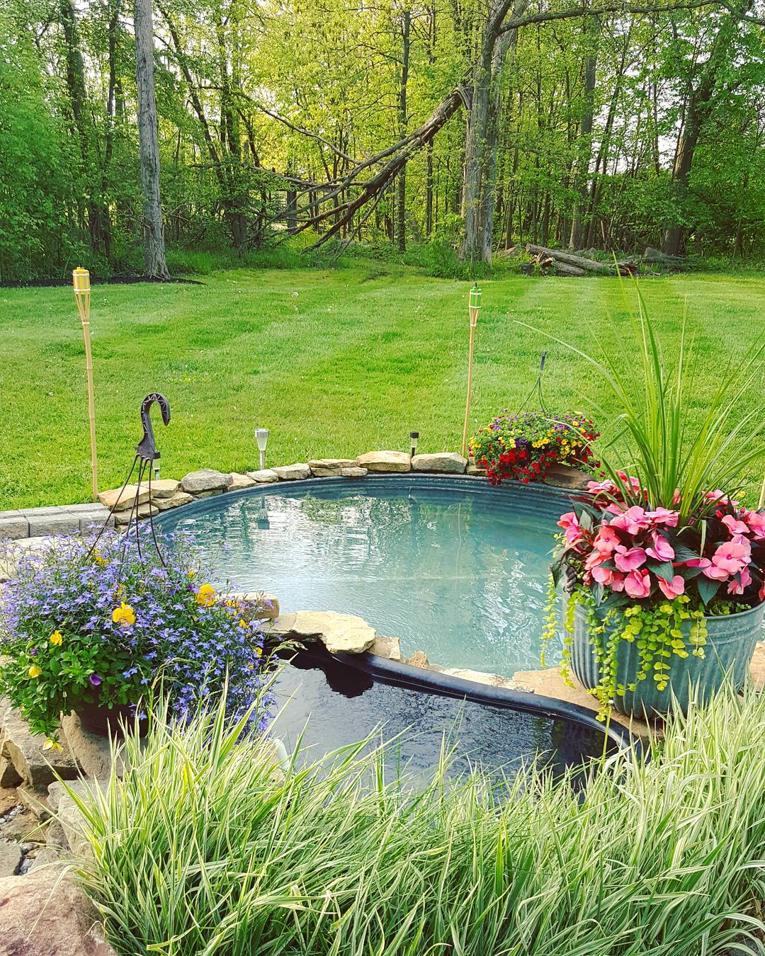 Stock Tank Pool - Beat the Heat this Summer! :: New ...
