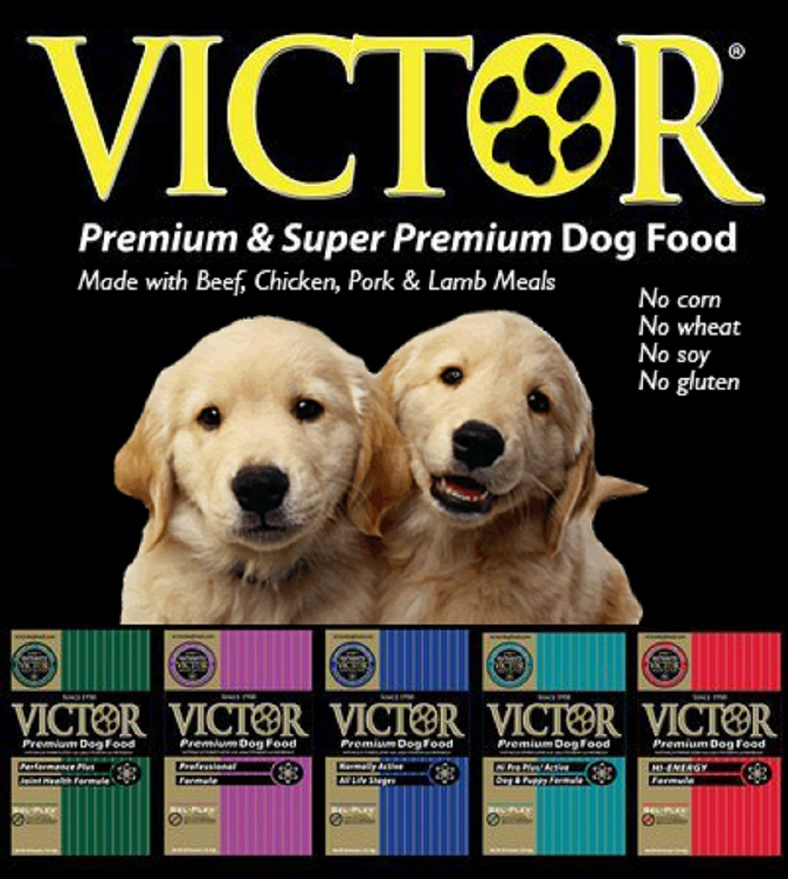 Victor Dog Food with Best Picture Collections