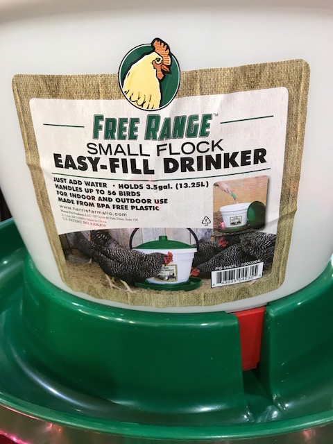 Free Range Small Flock Easy-Fill Poultry Drinkers