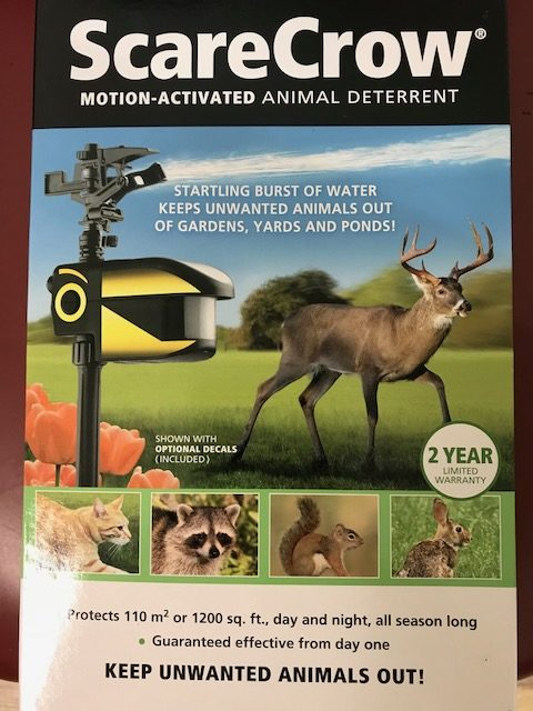 scarecrow motion activated animal deterrent new braunfels feed Scarecrow Sprinkler Motion Sensor e by new braunfels feed supply and pick up scarecrow motion activated animal deterrent to help keep animals off of your lawn