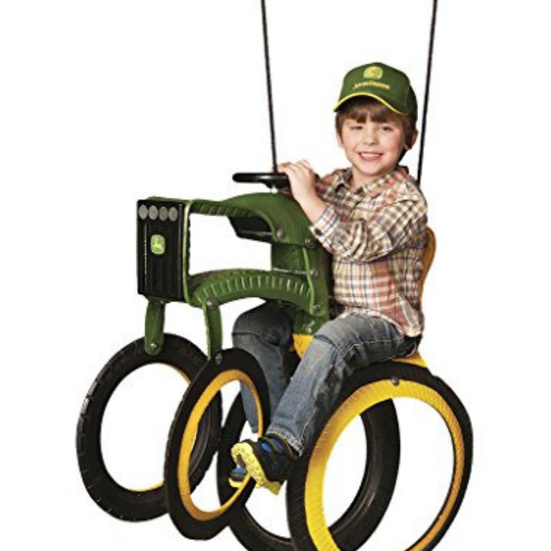 John Deere Swings wagons & Bikes