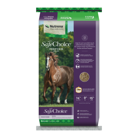 Nutrena SafeChoice Perform Pellet Horse Feed