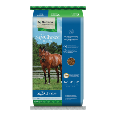 Nutrena SafeChoice Senior Horse Feed