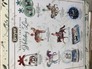2020 Breyer Holiday Ornaments