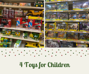 Toys for Children at New Braunfels Feed