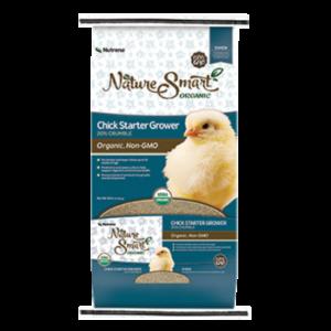 Nutrena Nature Smart Chick Starter Grower Feed Bag